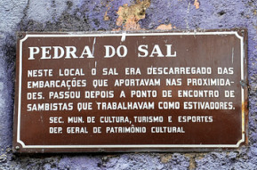 Pedra do Sal: berço do Samba!